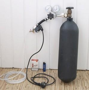 Балонная система подачи СО2