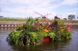 Floating Garden in Lincoln Park