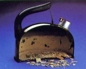 Накипь на чайнике