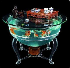 аквариум-столик