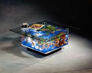 Аквариум стол