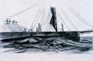 Ловля гигантского кальмара