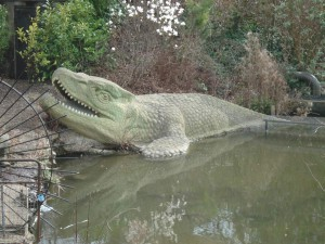 Мозазавр-реконструкция